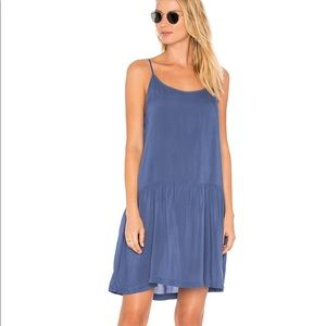 Lacausa babe slip dress in French blue